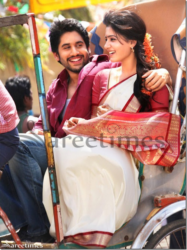 Naga Chaitanya,Samantha At Autonagar Surya Movie Stills