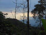 Looking east from the trail up Gunung Manglayang (Dan Quinn, November 2012)