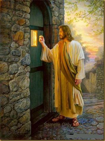 JESUS TOCANDO LA PUERTA