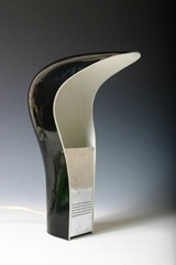 Lamperti - Casati and Ponzio Studio D.A. - Pelota table lamp, black