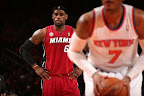 lebron james nba 130301 mia at nyk 10 LeBron Debuts Prism Xs As Miami Heat Win 13th Straight