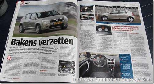 Test autoweek Dacia Sandero 1.4
