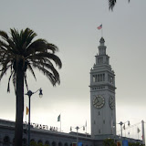 Not even 8am at the Ferry Building!