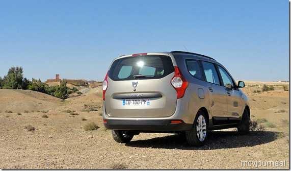 Dacia Lodgy testdagen 15