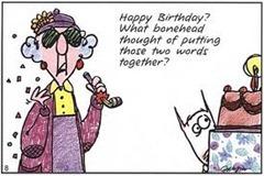 Happy Birthday! И кто додумался поставить эти два слова рядом?..