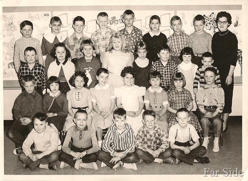third grade PR  1958-1959