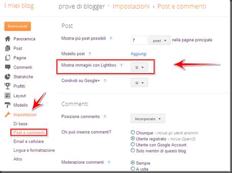 come vedere slideshow immagini foto post blog blogger