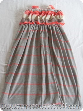 Coral Days Sundress - sumossweetstuff.com #sewing