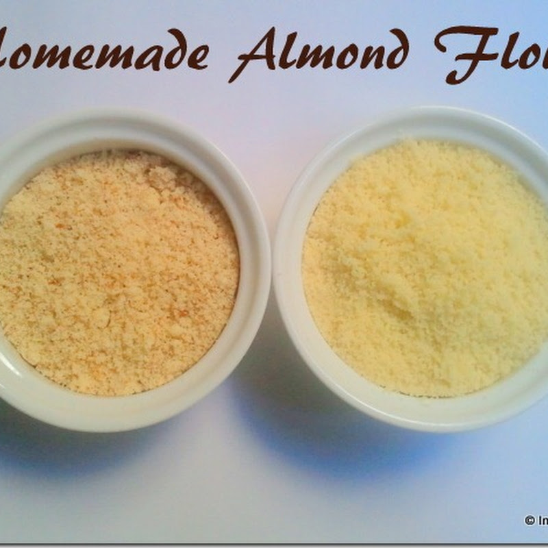 How to make Almond Flour | Homemade Almond Flour