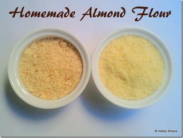 How do you make almond meal
