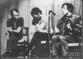 Silvio, Noel y Vicente