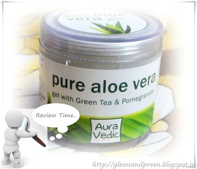 Auravedic Pure Aloevera Gel Review