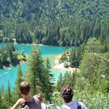 Caumasee mit Sarah und Dani
