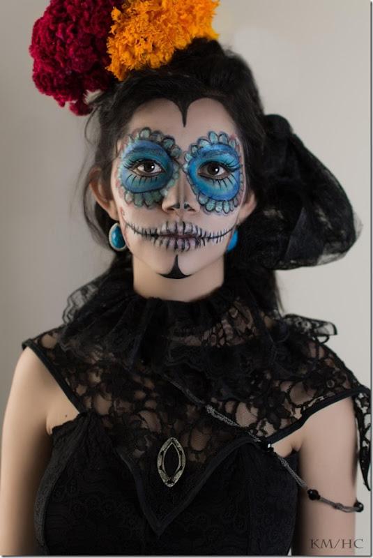 maquillaje de catrina todohalloween (7)