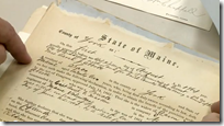 Civil War widows' pension file