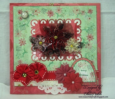 Merry Christmas Quilling