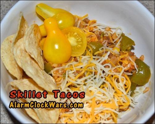 skillet tacos