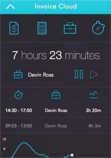 19 increíbles interfaces de aplicaciones móviles hechas para iOS 7 4