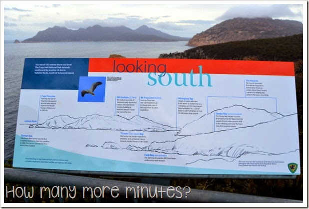 How Many More Minutes? ~ Cape Tourville Lighthouse at Freycinet