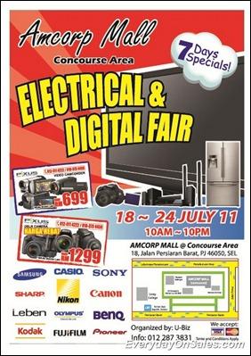 Amcorp Mall Digital Fair Flyer