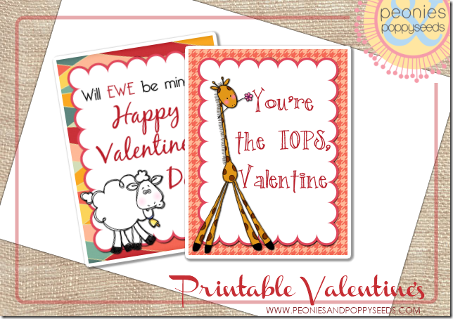 kids valentines copy