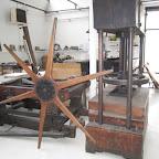 côté musée : les vieilles presses .