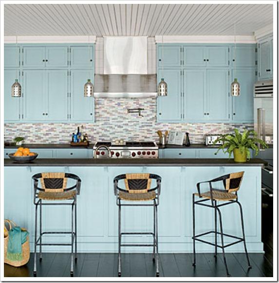 Seaside Coastal Kitchen With: Coastal Kitchens