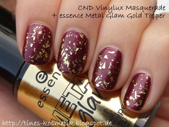 essence Metal Glam Gold Topper 2