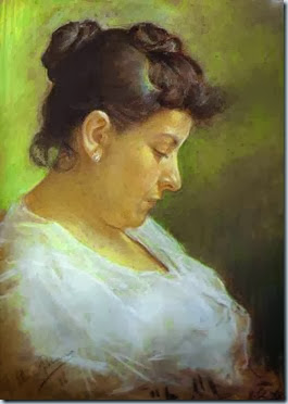 Pablo Picasso (Spanish artist, 1881–1973) Portrait of the Artist's Mother_ 1896_