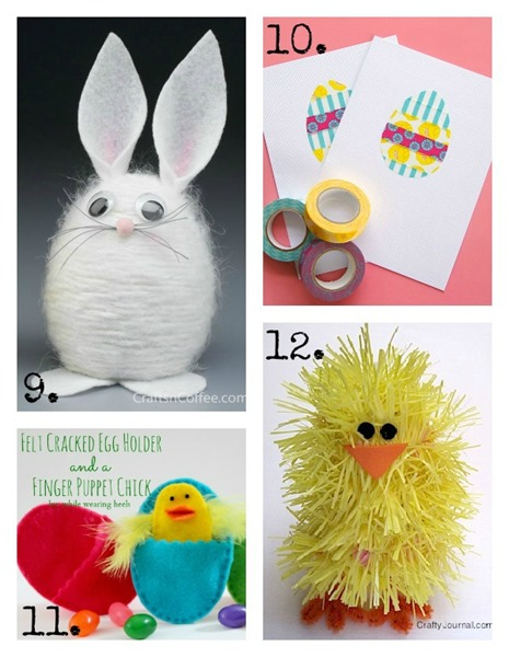 20 DIY Easter Crafts for Kids