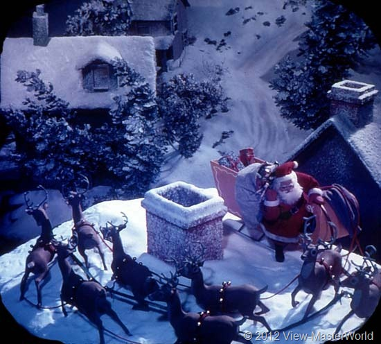 View-Master The Night Before Christmas (B382), Scene 10