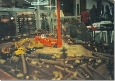 07 Logging Diorama at the Triangle Mall in November 1997