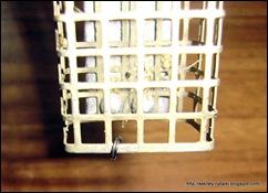 Фидерная кормушка с заводным кольцом