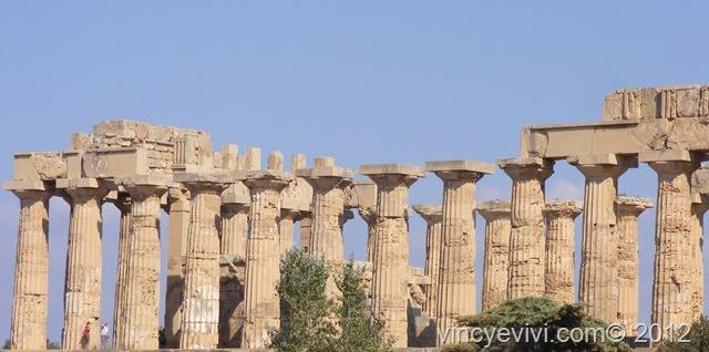 Tempio in sicilia