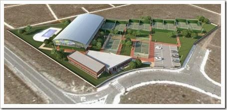 Vista general: Greenvilas Meco Sports Center: pádel y mucho más en un ambicioso proyecto para 2014.