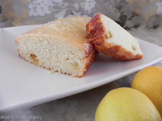 Lemon Pound Cake with Fresh Lemons