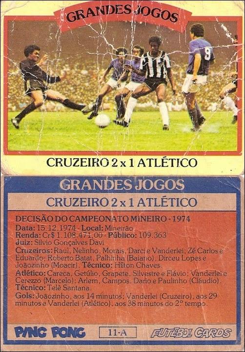 11-A - Cruzeiro 2x1 Atlético