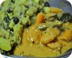 Prawns in Coconut Gravy 10