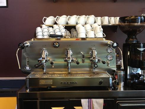 Cafetera Faema E61 Legend - Foto Paramaconi Acosta