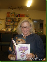 Stephanie Barden Reads to Sleepy Bear - June 2011