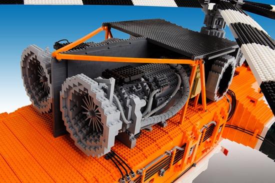 Helicóptero de Legos 09
