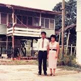 森林局職員のTubau 宿舎 / The staff quarter of Sarawak Forest Department at Tubau