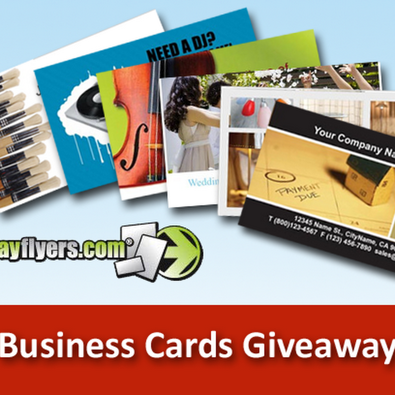 Business Cards Giveaway From Next Day Flyers