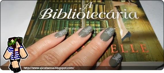 Unha e Livros A Bibliotecária2