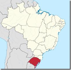 Mapa Rio Grande do Sul