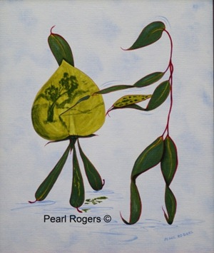 leaf artist pearl rogers