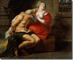 Rubens - Cimon and Pero (Roman Charity . 1630 - Rijksmuseum - Amsterdam