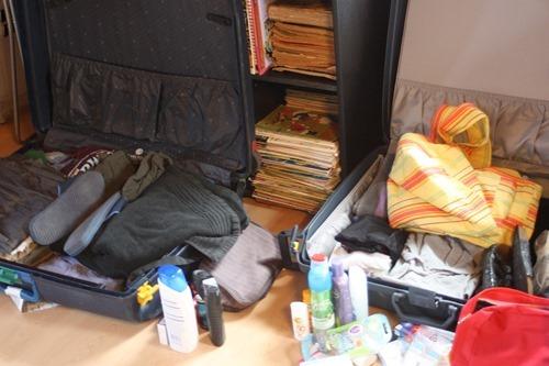 koffers inpakken
