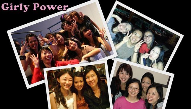 Friendship girly power