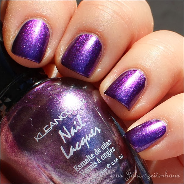 Violett Kleancolor Metallic Purple 6
